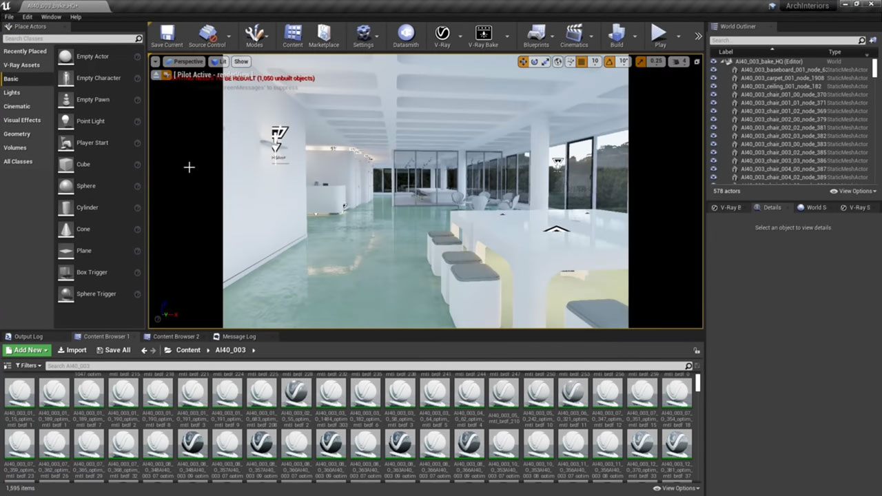 v-ray next for unreal update 3