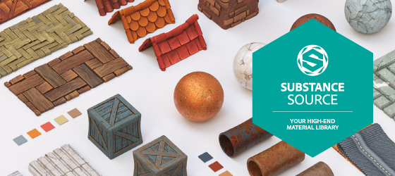 substance source stylized materials