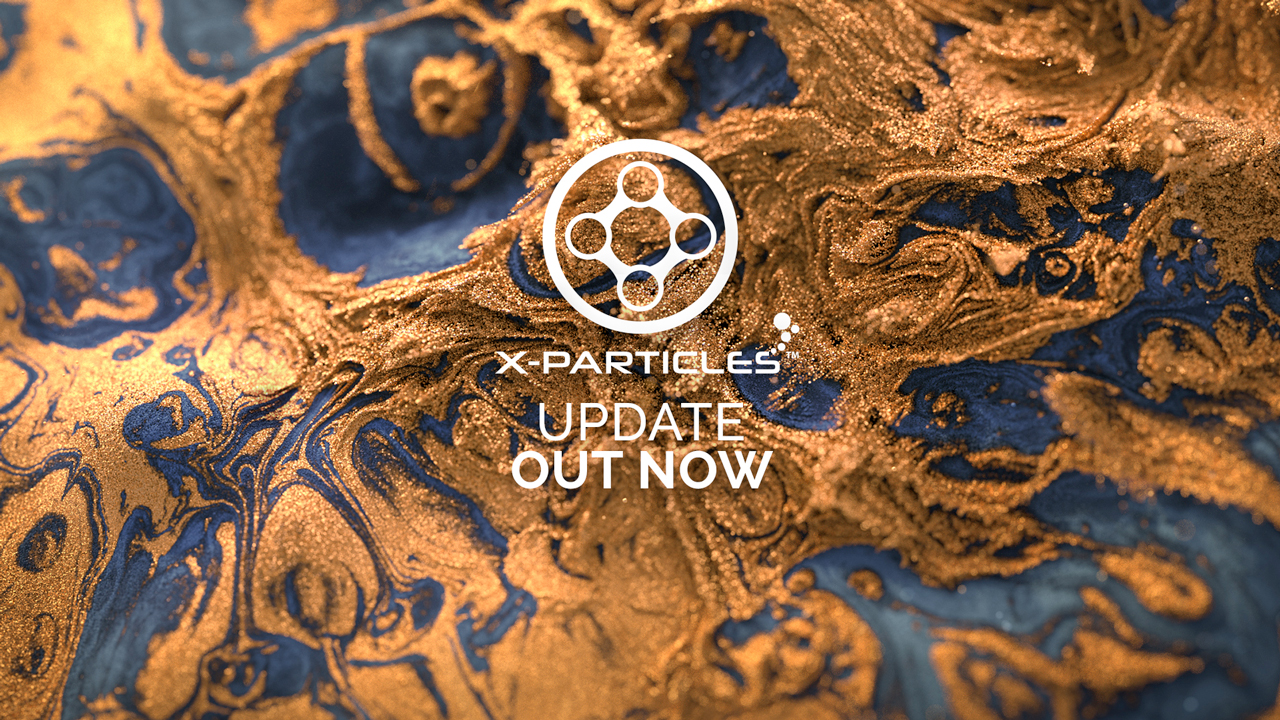 x-particles update