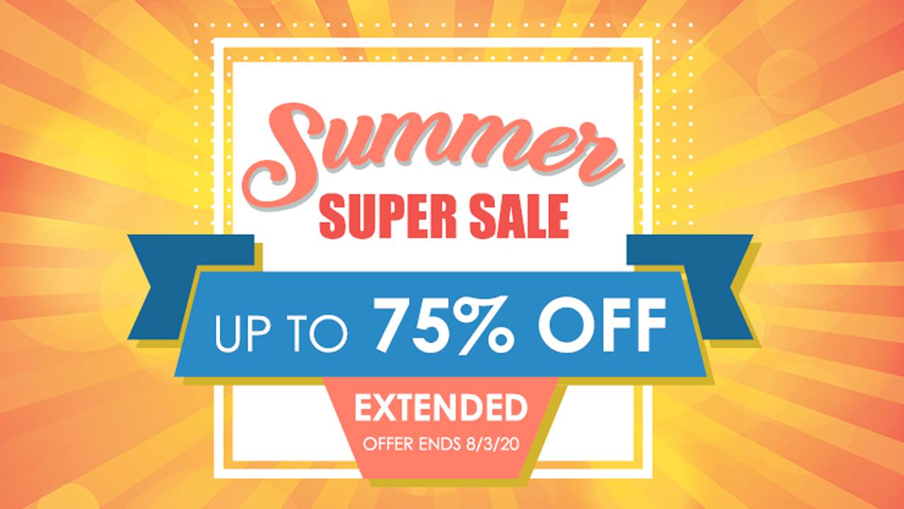 mcdsp summer super sale extended