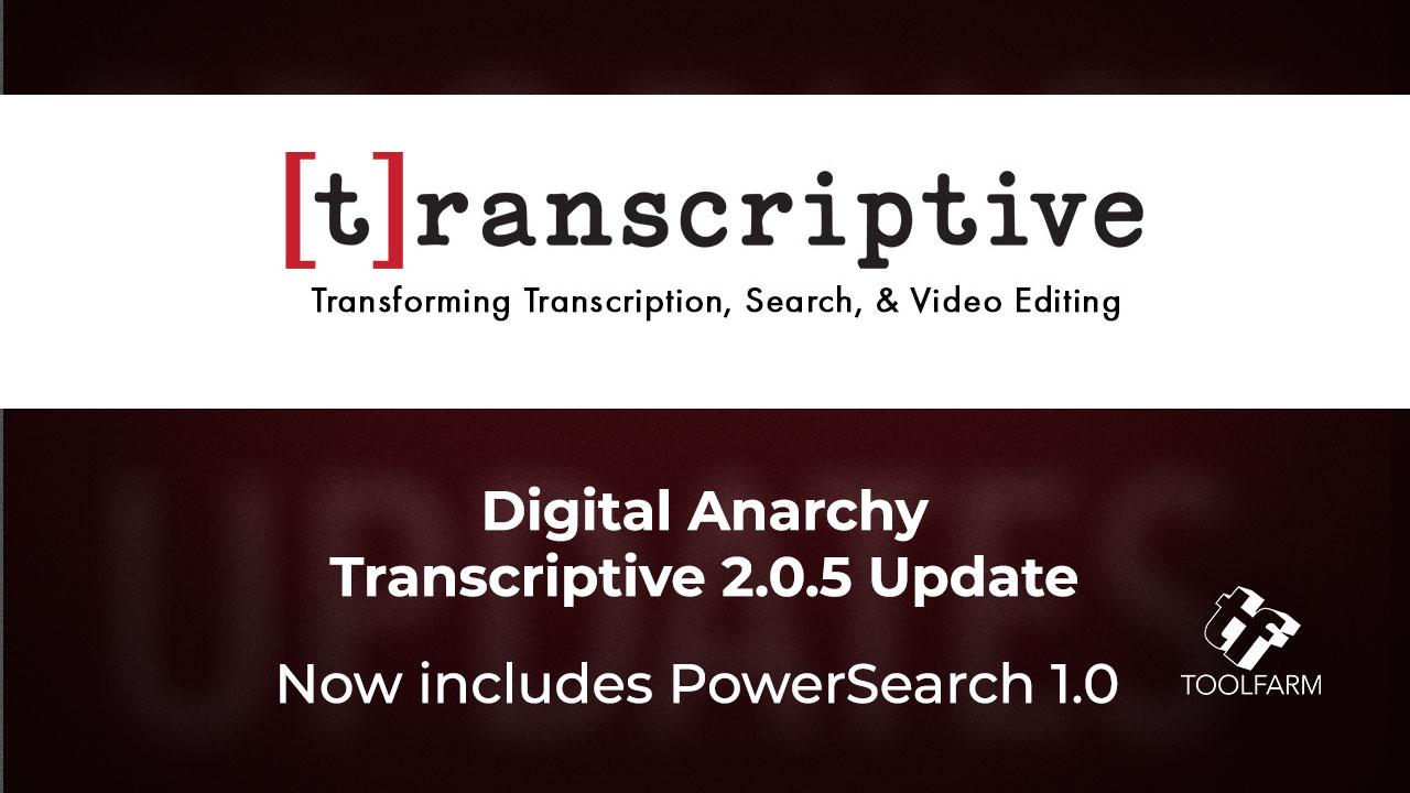 Digital Anarchy 2.0.5