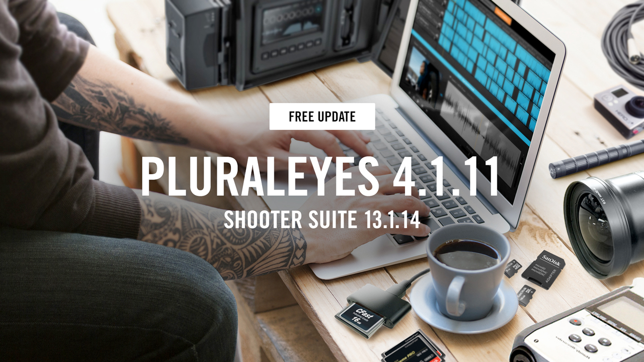 red giant pluraleyes 4.1.11 update