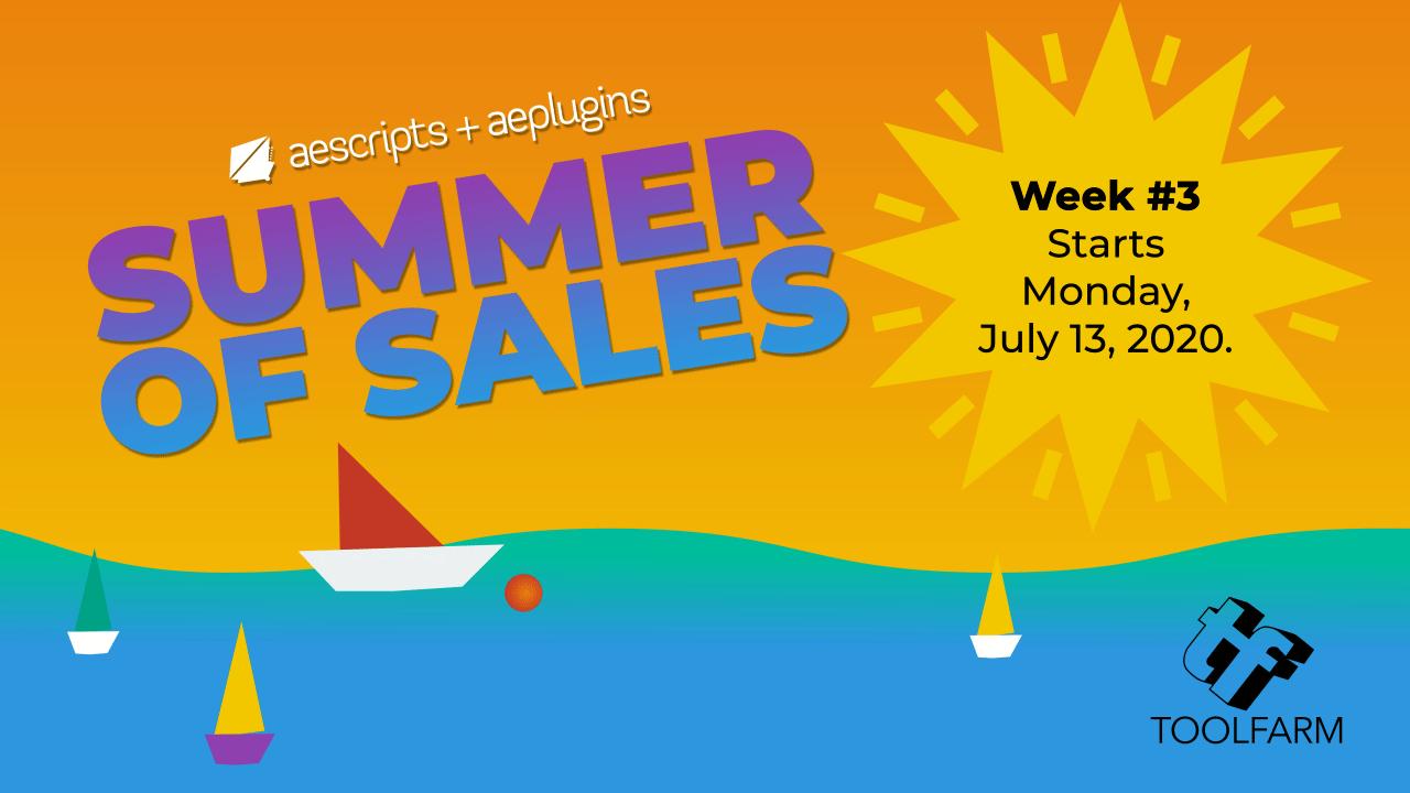 Summer of Sales week 3