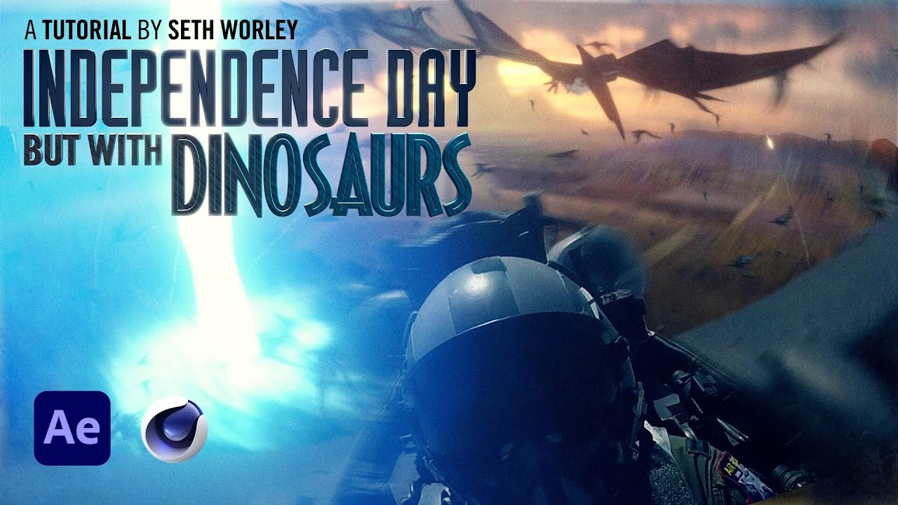 Independence Day with Dinosaurs