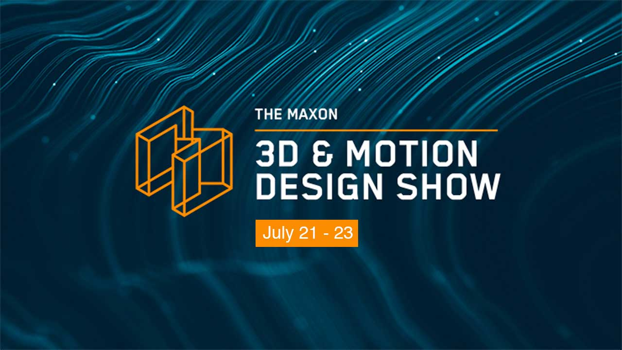 maxon red giant motion design show july