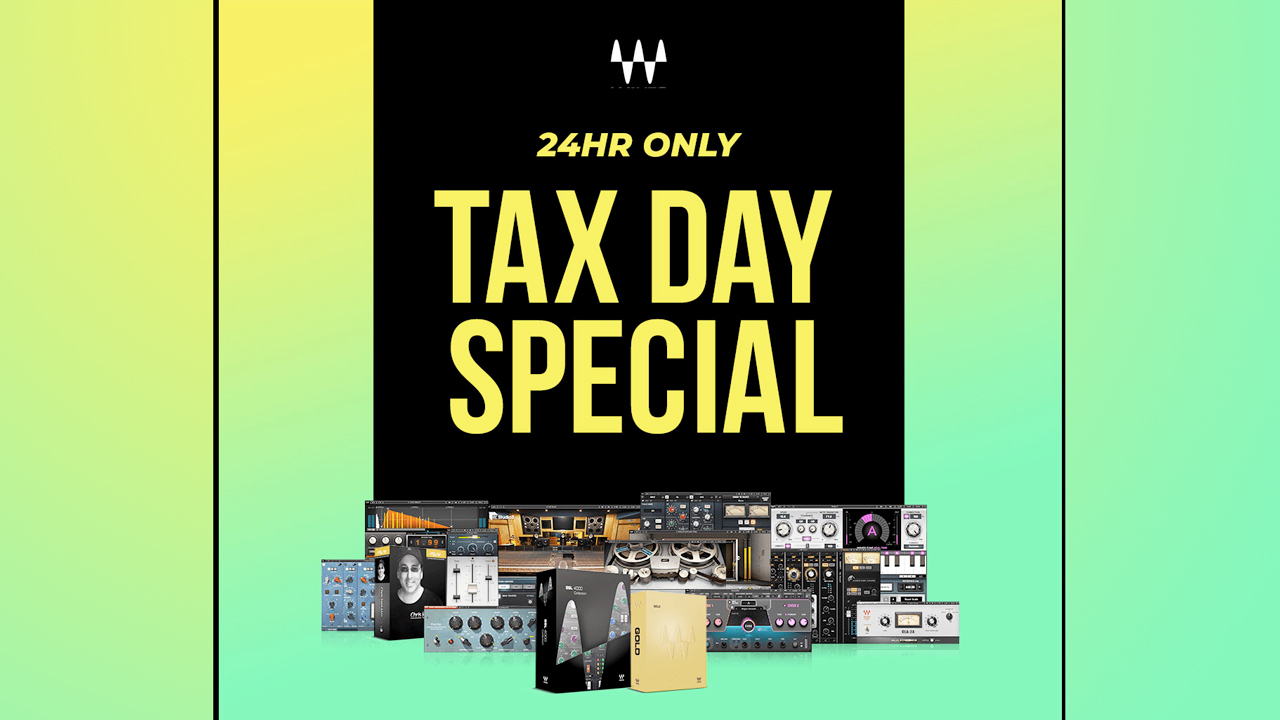 waves audio tax day special