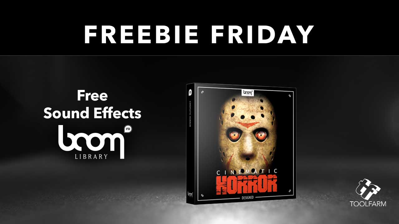 Boom Audio FREE SOUND EFFECTS OF THE MONTH Cinematic Horror Sound Effects Library Cinematic Horror