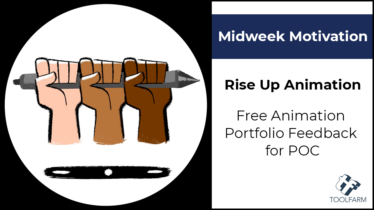 midweek motivation rise up animation portfolio feedback