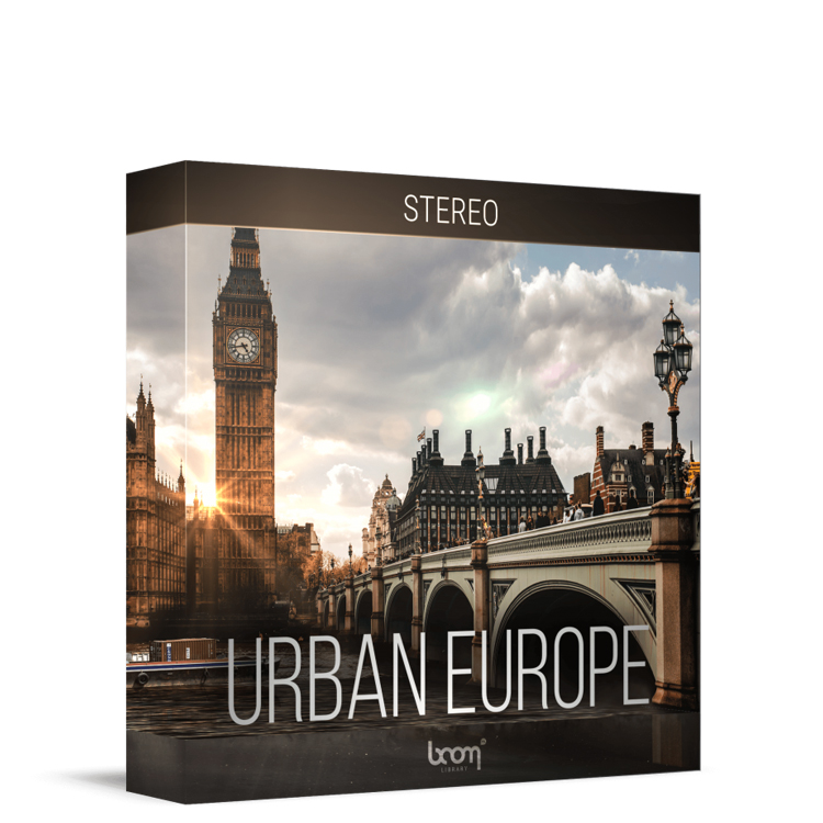 boom library urban europe stereo