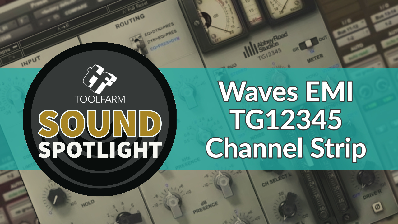 Waves EMI TG12345 Channel Strip