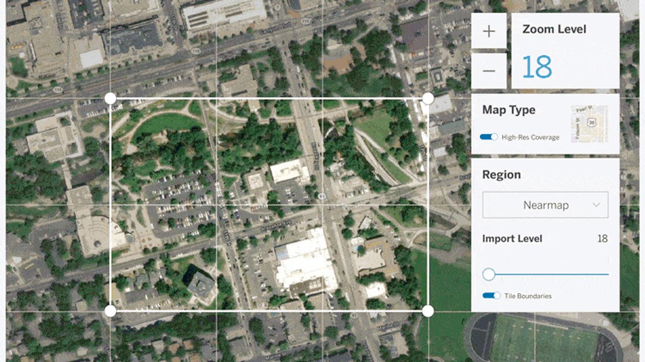 sketchup nearmap