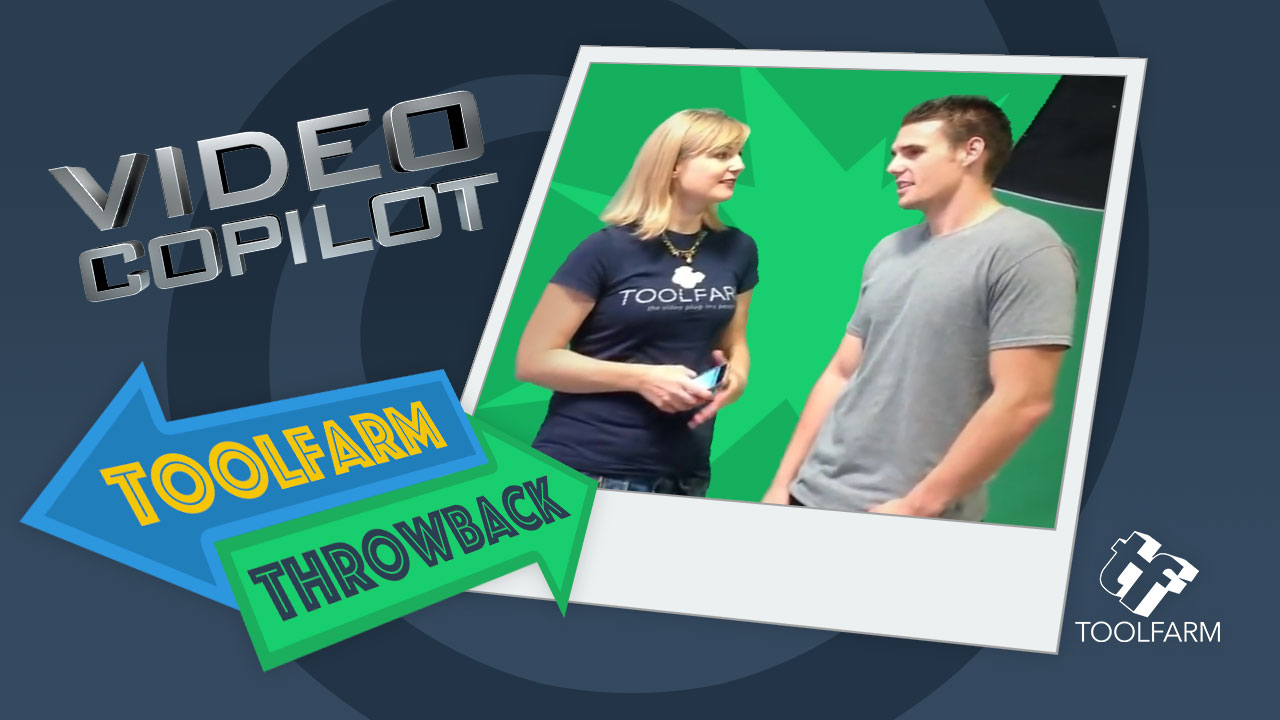 Toolfarm Throwback: Interview with Video Copilot on Element 3D Launch Day