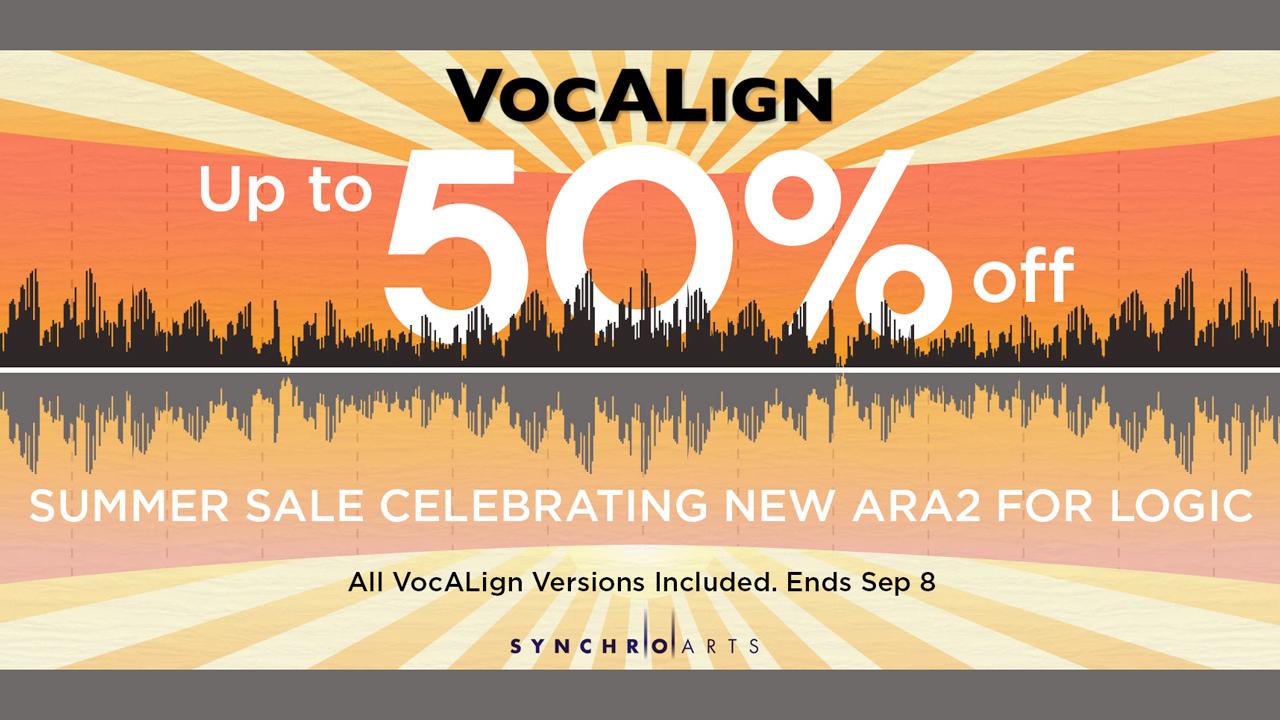 vocalign summer sale