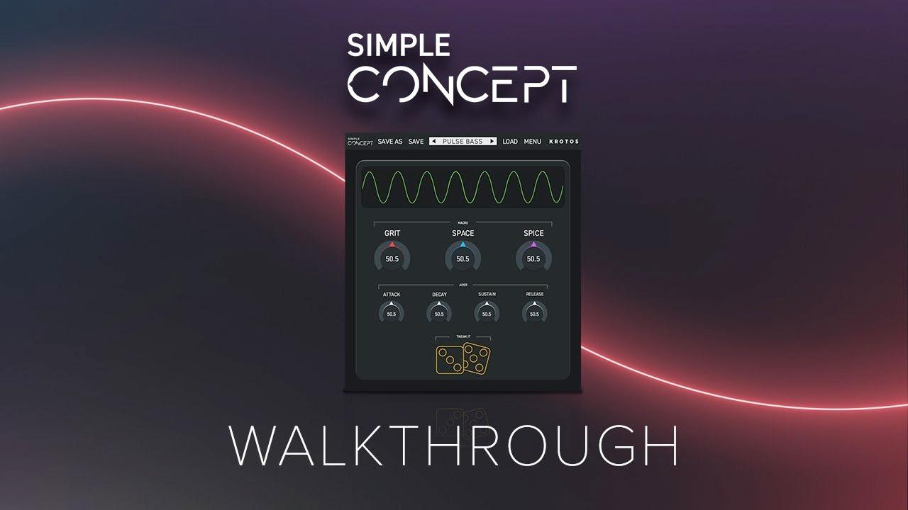 Krotos audio simple concept tutorial