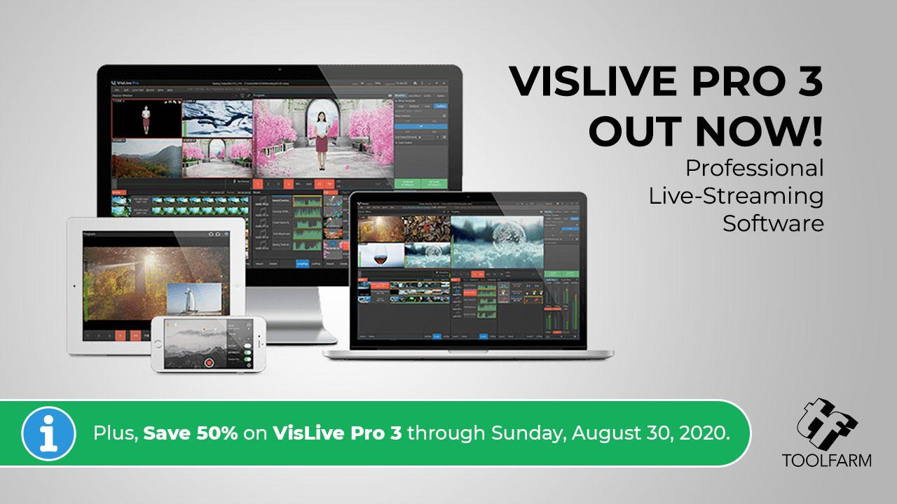 VisLive Pro 3