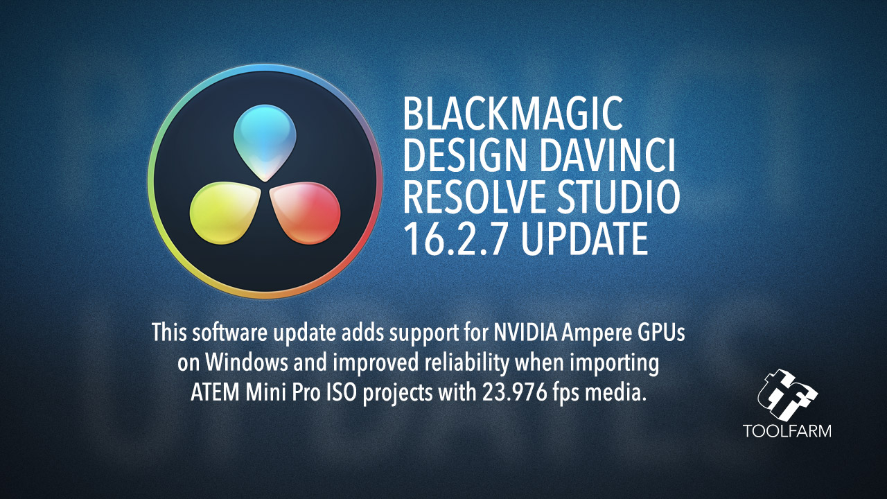 DaVinci Resolve Studio 16.2.7