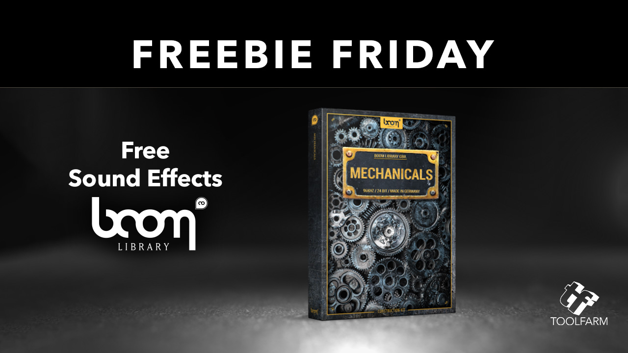 Boom LIbrary Freebie Friday Mechanicals