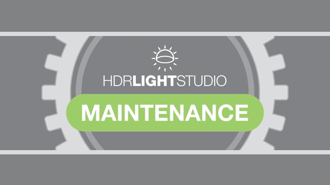 hdr light studio maintenance