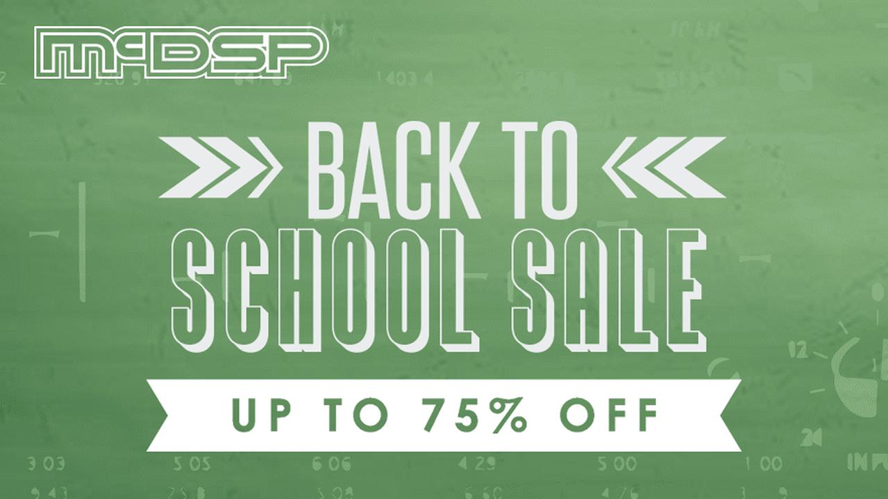mcdsp back to school sale