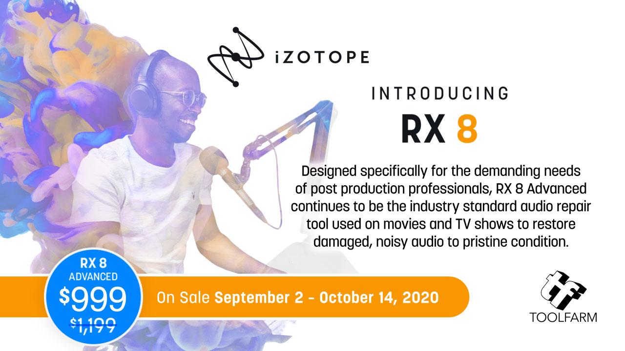 izotope rx 8 promo