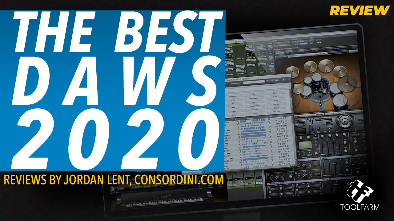Reviews: The Best DAW Music Production Software 2020