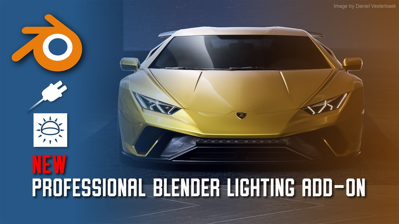 News: Lightmap brings HDR Light Studio to Blender