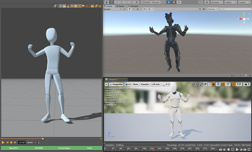 unity and unreal integration