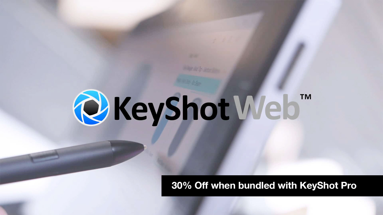 keyshotweb 30% off