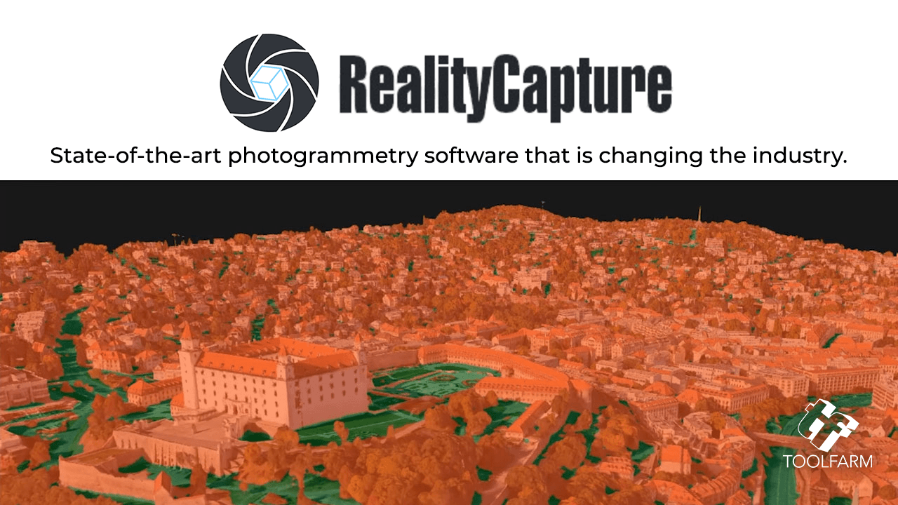 New: RealityCapture, State-of-the-Art Photogrammetry Software