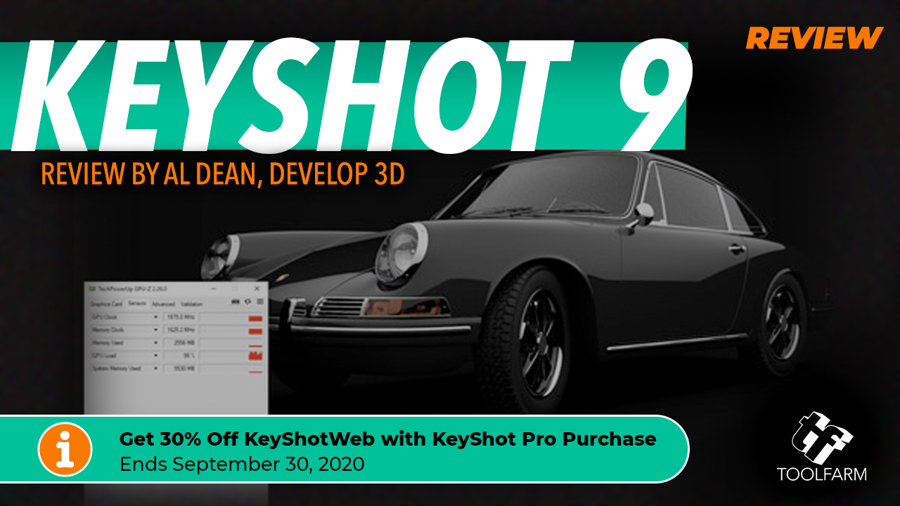 Review: KeyShot 9 by Al Dean, Develop 3D