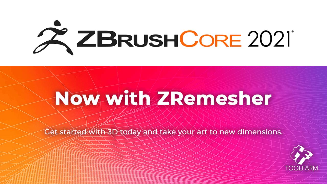 Pixologic™ ZBrushCore 2021