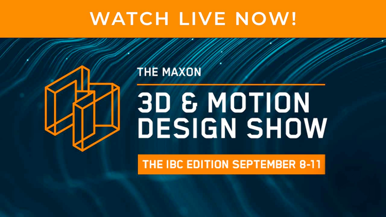 Maxon motion design show ibc 2020