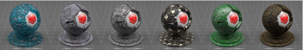 redshift material pack 4 samples