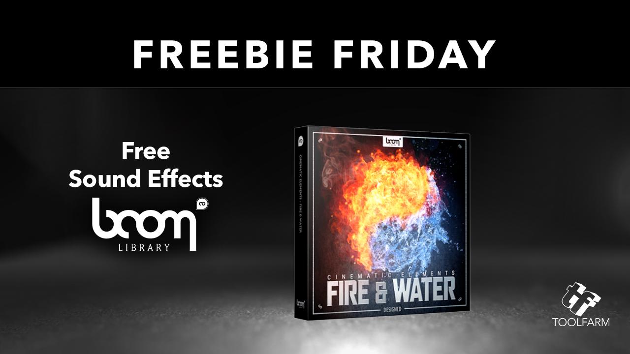 Freebie Boom Audio Cinematic Elements Fire & Water Designer