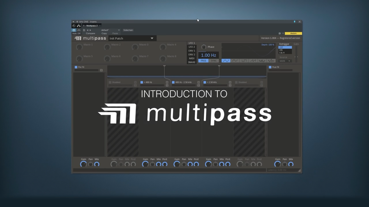Introduction to kilohearts multipass