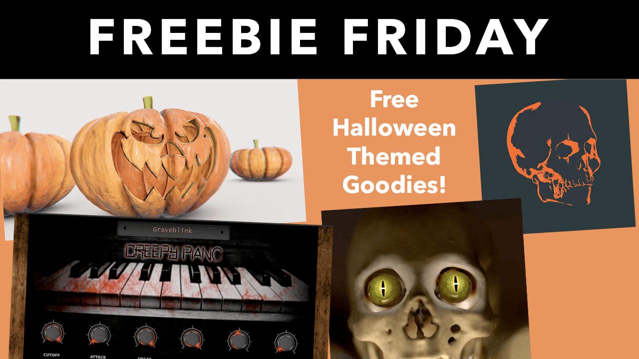 Spooky Halloween Freebies