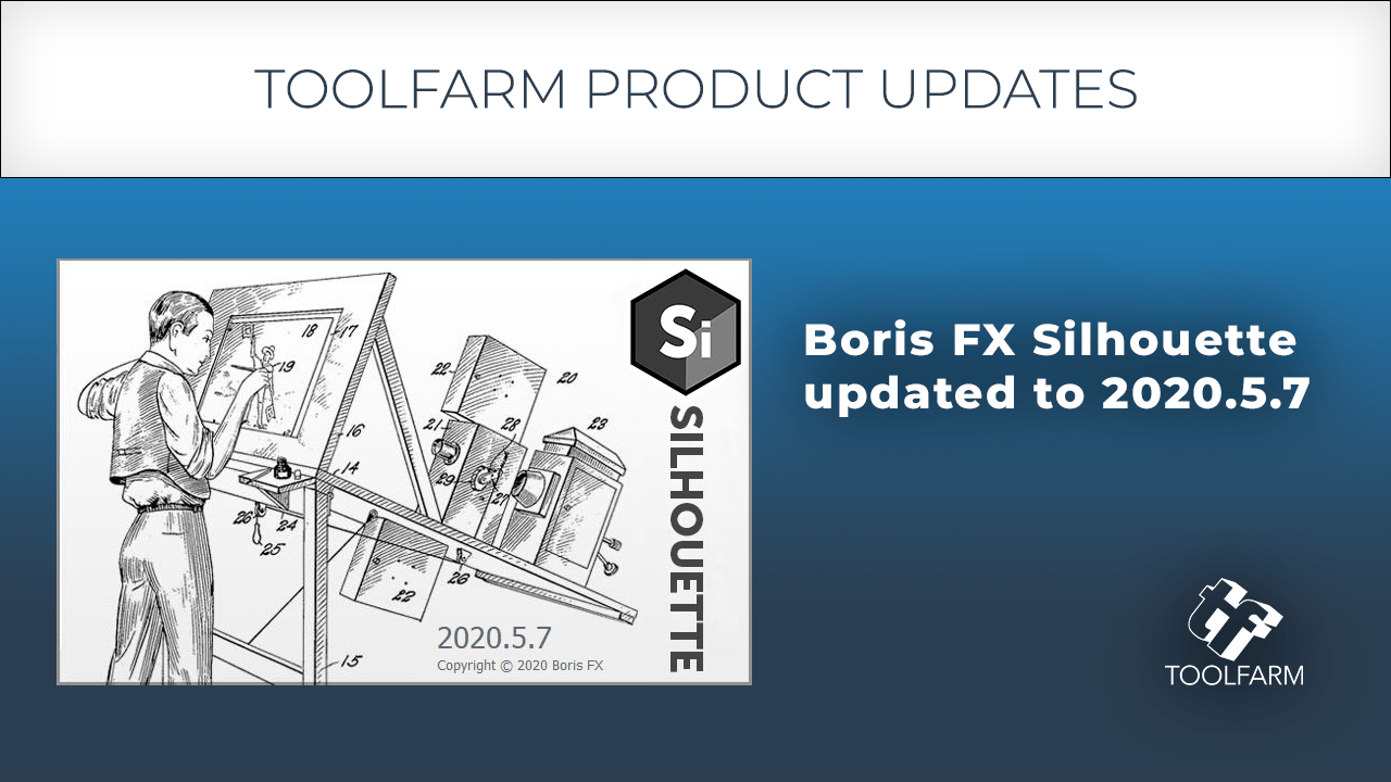Update: Boris Silhouette & Silhouette Paint 2020.5.7