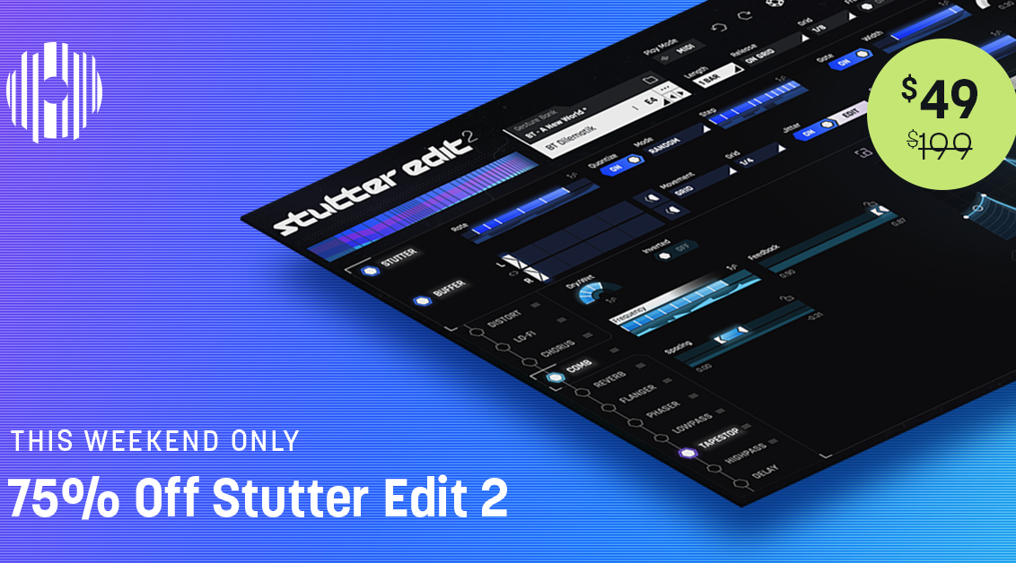 stutter edit Flash $49