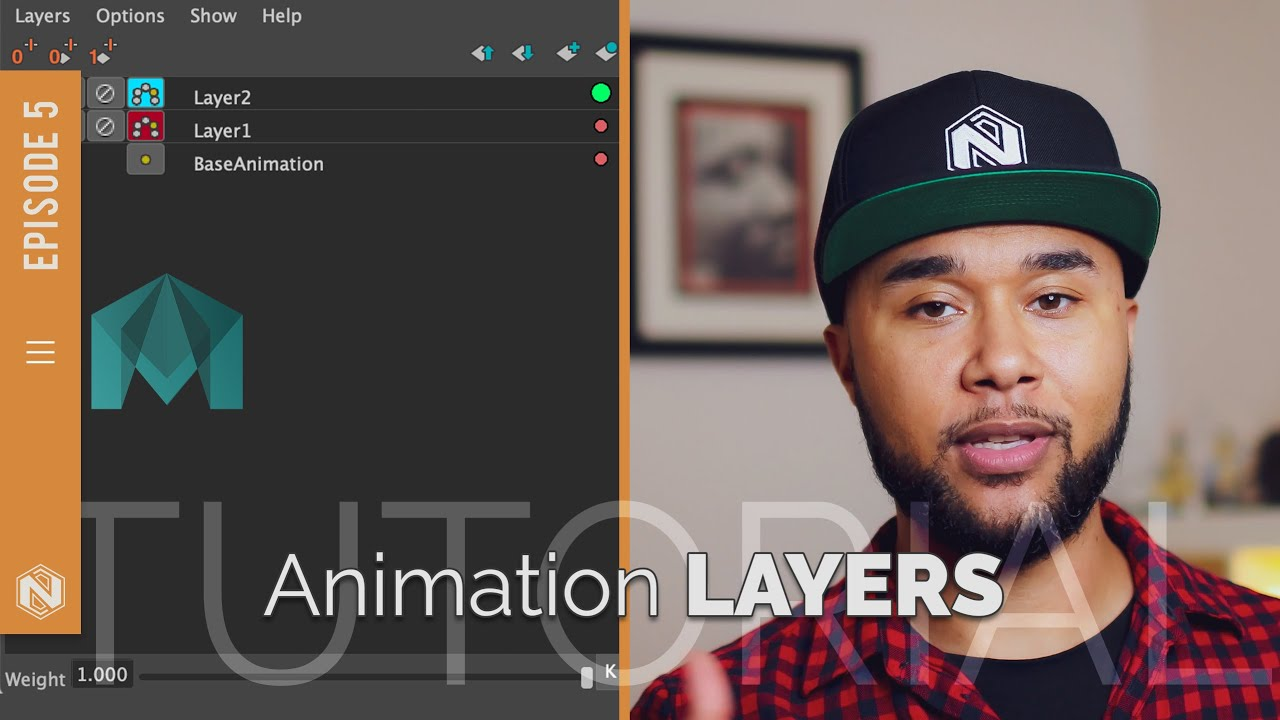 Animation Layers in Maya #MayaMonday