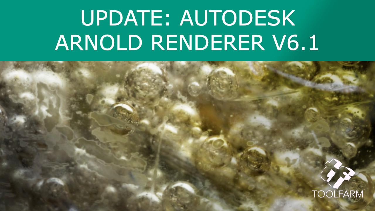 Autodesk Arnold Renderer 6.1