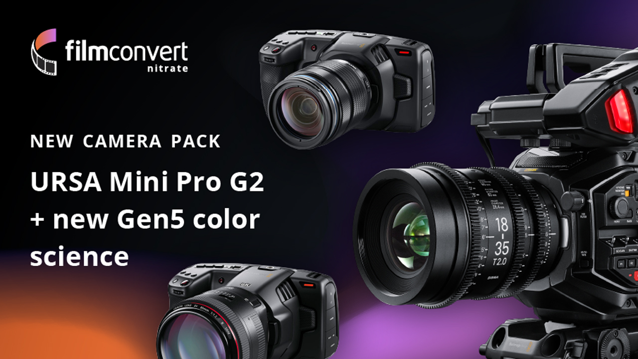 filmconvert ursa pro camera pack