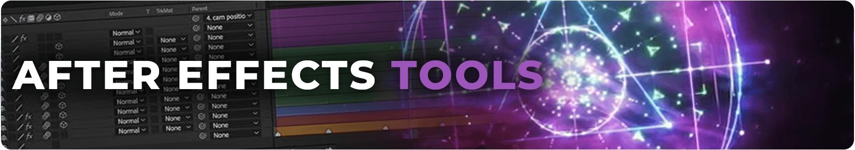 Adobe After Effects plugins header