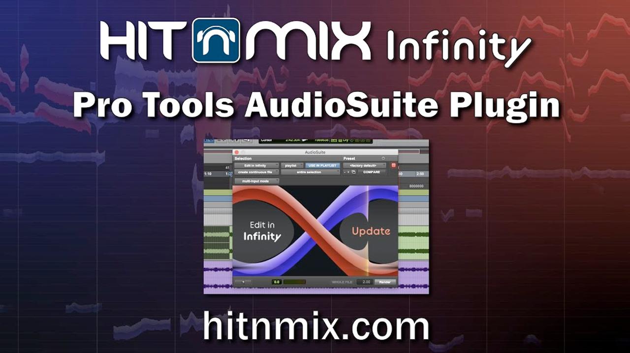 hit n mix infinity pro tools tutorial