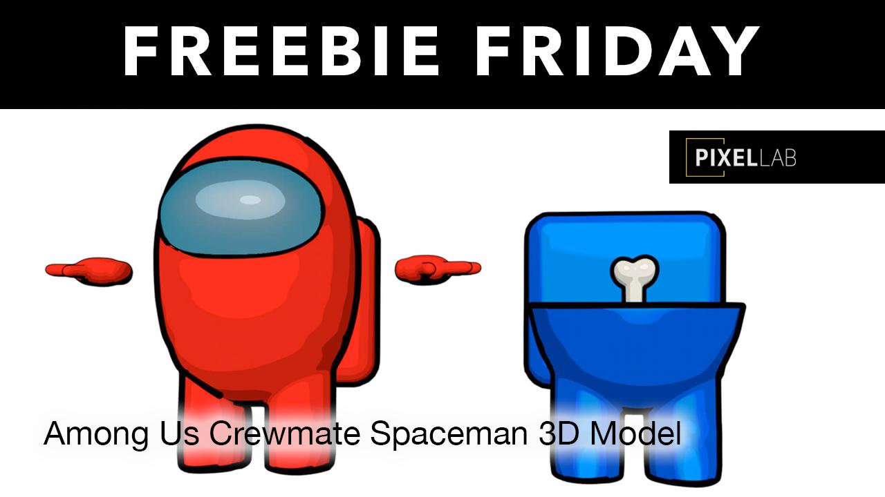 among us crewmate freebie