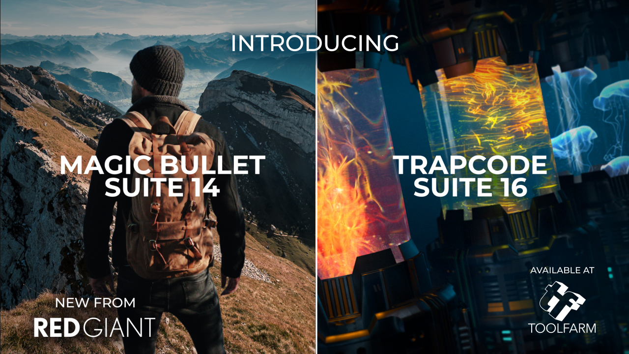 red giant magic bullet suite and trapcode suite update
