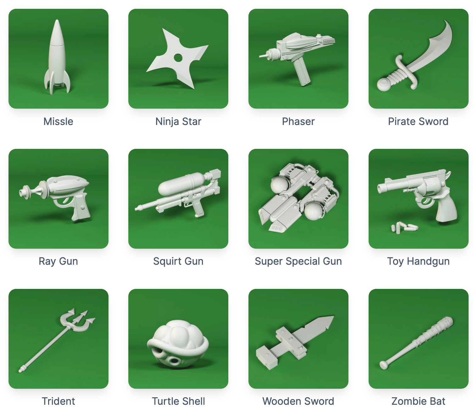 Happy Toolbox Weapons 2