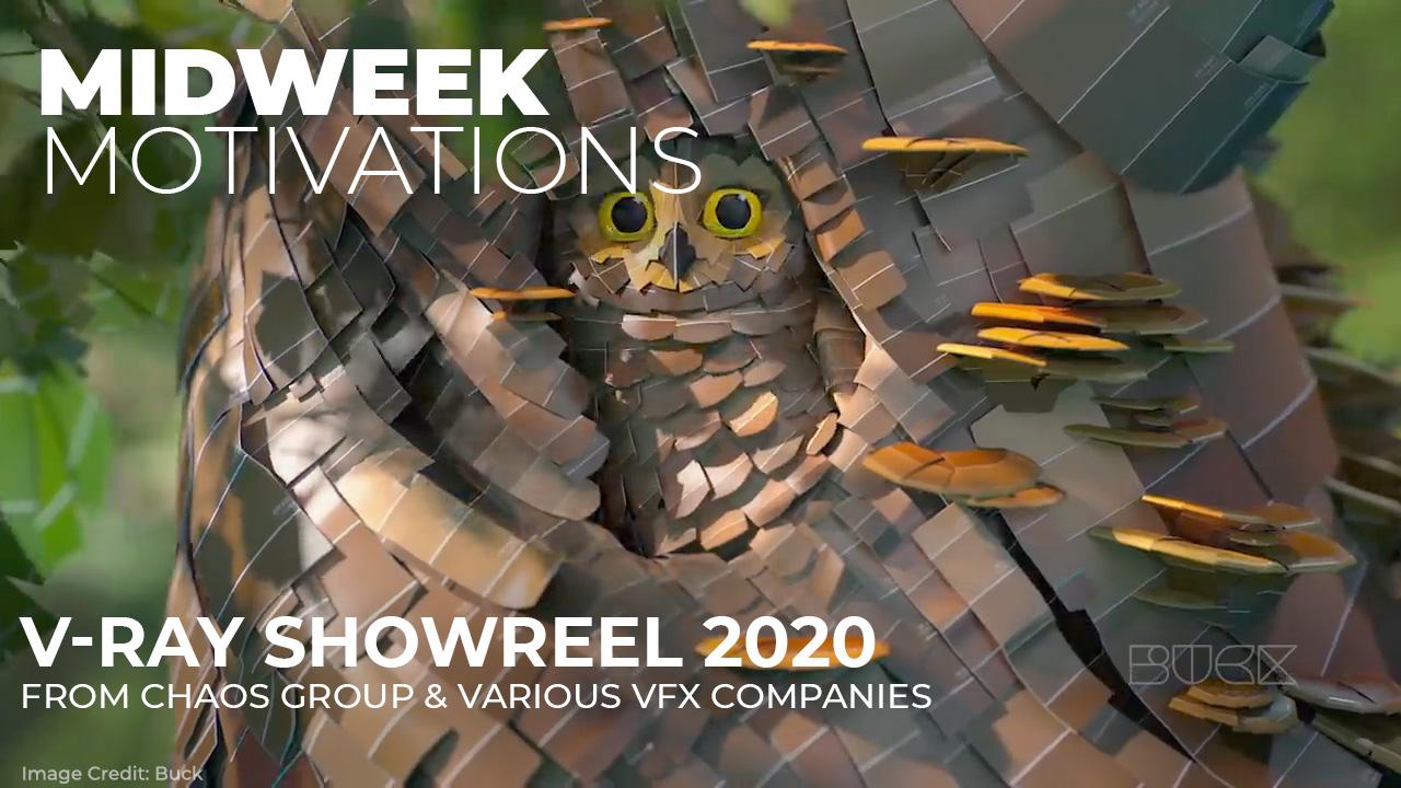 V-Ray Showreel 2020