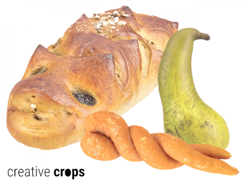 Creative Crops free 3D food scans