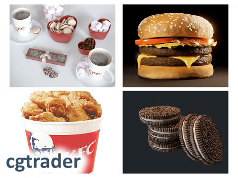 cgtrader free food models