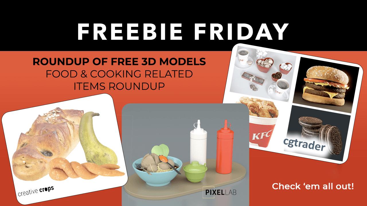 Free 3D Models roundup